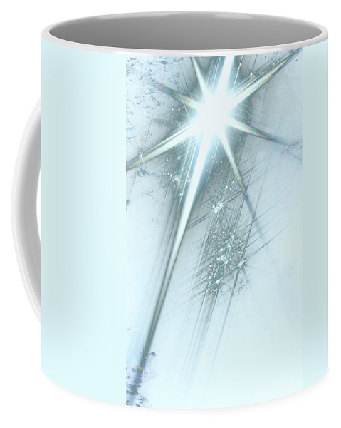 Star Of Wonder Coffee Mug featuring the digital art Star Of Wonder by Ellen Henneke