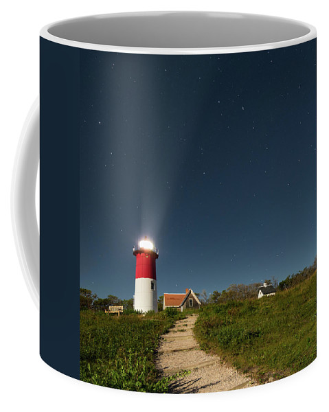 Square Coffee Mug featuring the photograph Star Search Square by Bill Wakeley