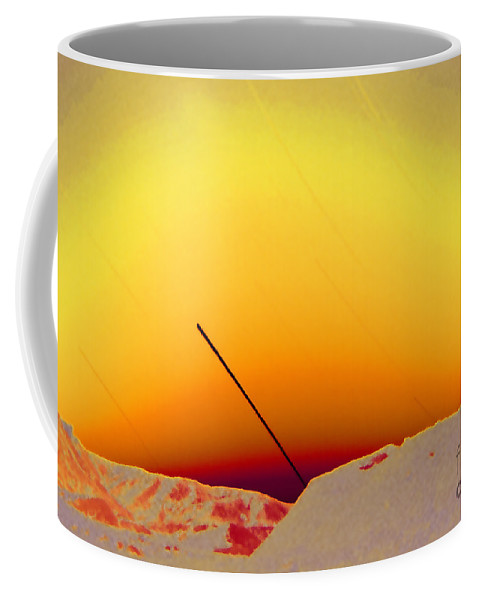 Star Trails Coffee Mug featuring the photograph Star Trails by Sven Brogren