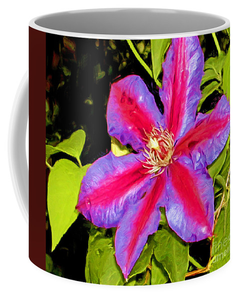 Fine Art Photography Coffee Mug featuring the painting Star Treatment by Patricia Griffin Brett