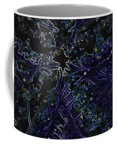 Abstract Coffee Mug featuring the photograph Starfish Belly by Marnie Patchett
