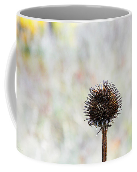 Burr Coffee Mug featuring the digital art Stark Beauty by Susan Vineyard