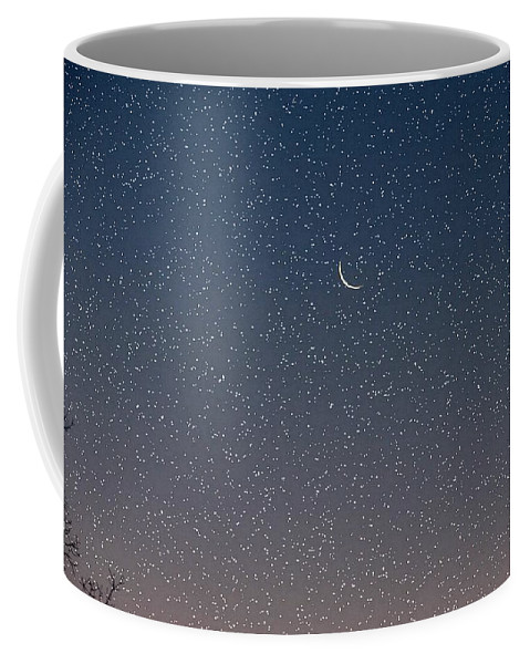Coffee Mug featuring the photograph Starry Morning Sky by Luciana Seymour