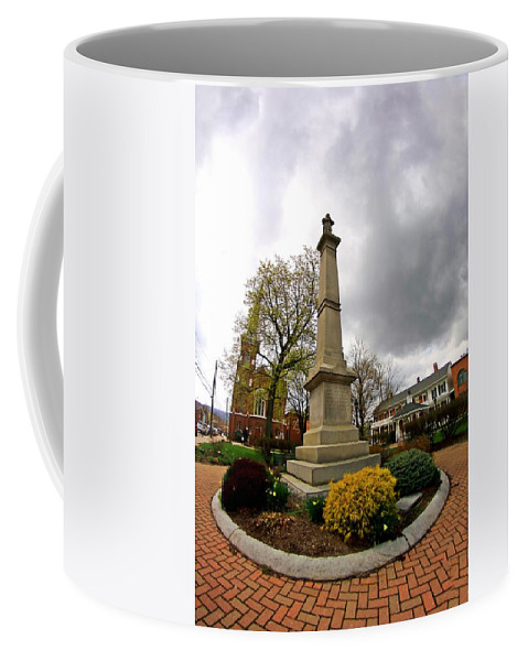 Statue Coffee Mug featuring the photograph Statue by Karl Rose