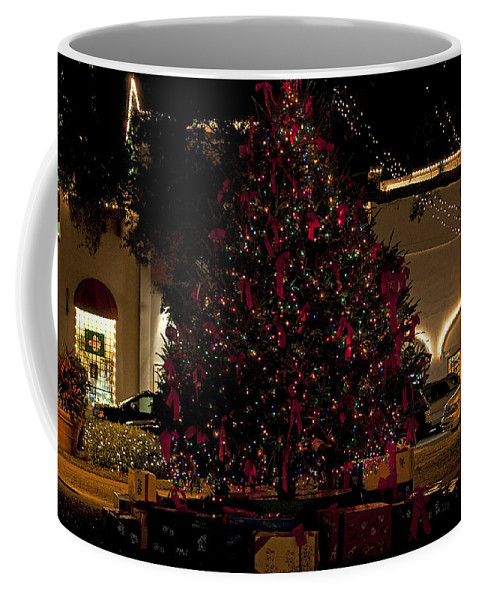St. Augustine Coffee Mug featuring the photograph St.augustinelights4 by Kenneth Albin