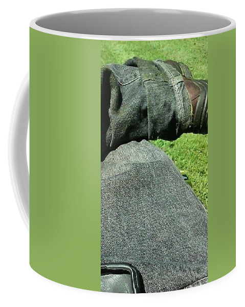 Coffee Mug featuring the photograph Stay by Edward Stevens