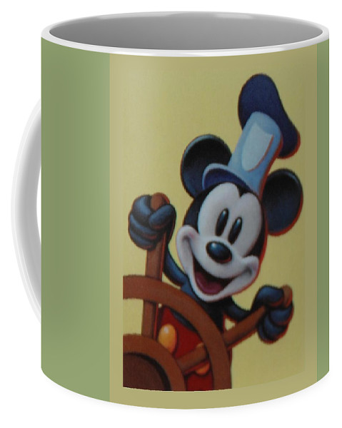 Disney Coffee Mug featuring the photograph Steamboat Willy by Rob Hans