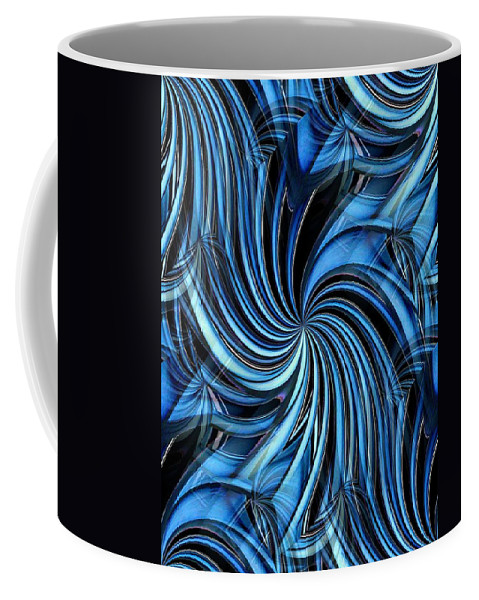 Seattle Coffee Mug featuring the photograph Steel Whirlpool by Tim Allen
