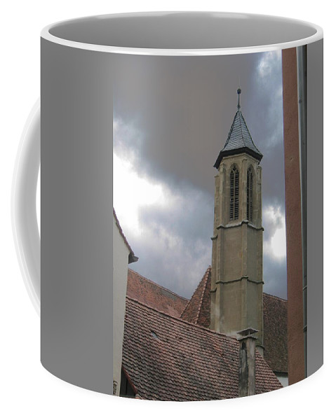 Cathedral Coffee Mug featuring the photograph Steeple by Dylan Punke