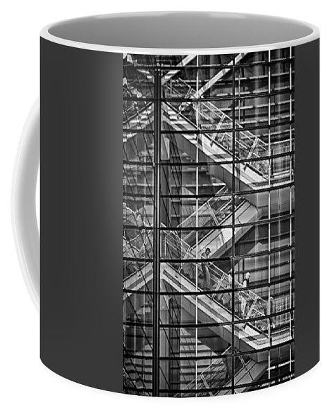Stairs Coffee Mug featuring the photograph Stepping Panes by Scott Wyatt