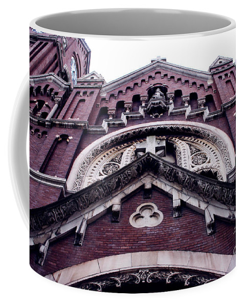 Coffee Mug featuring the photograph Steps Of St. Micheals by Jamie Lynn
