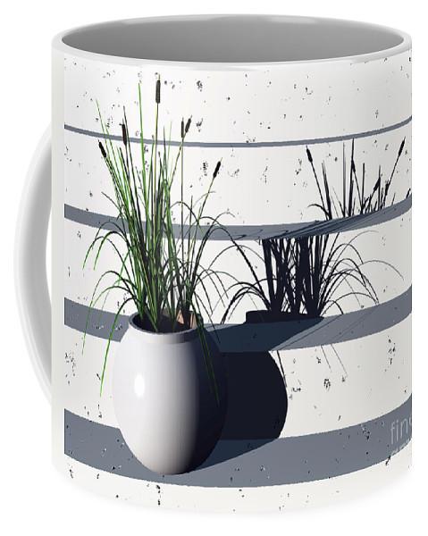 Steps Coffee Mug featuring the digital art Steps by Richard Rizzo