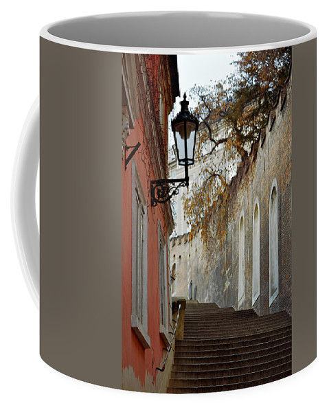 Lawrence Coffee Mug featuring the photograph Steps To Saint Vitus by Lawrence Boothby
