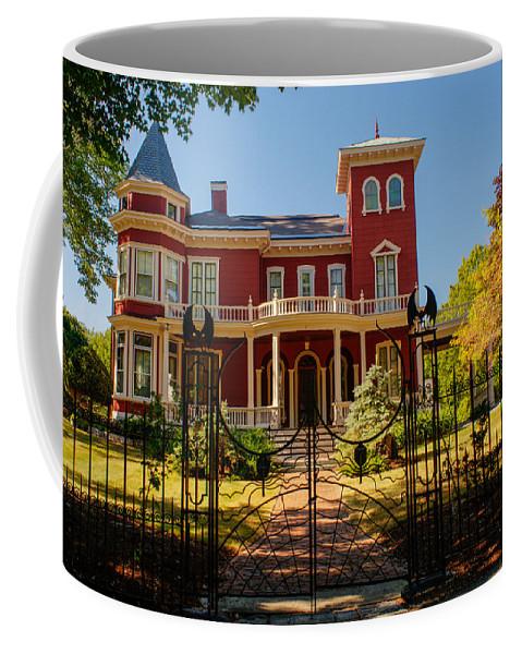 Steven Coffee Mug featuring the photograph Steven King Home Bangor Maine 1 by Douglas Barnett