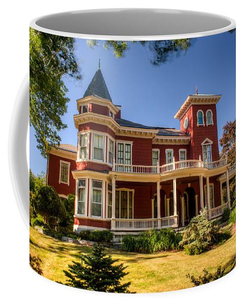 Steven Coffee Mug featuring the photograph Steven King Home Bangor Maine 2 by Douglas Barnett