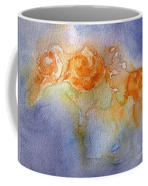 Impressions Coffee Mug featuring the painting Still Alive by Jasna Dragun