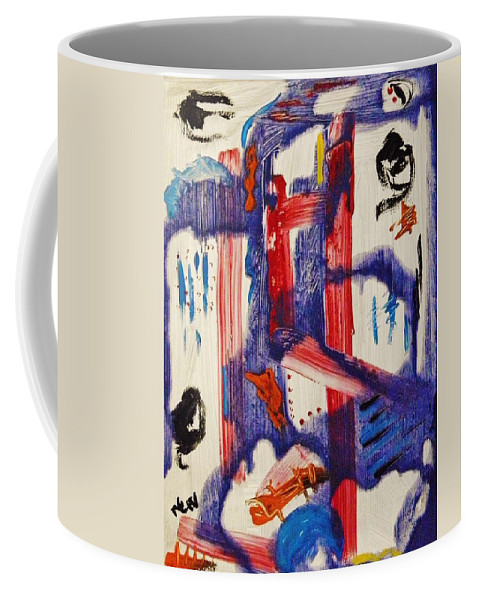 Still Dancing Coffee Mug featuring the painting Still Dancing by Mary Carol Williams