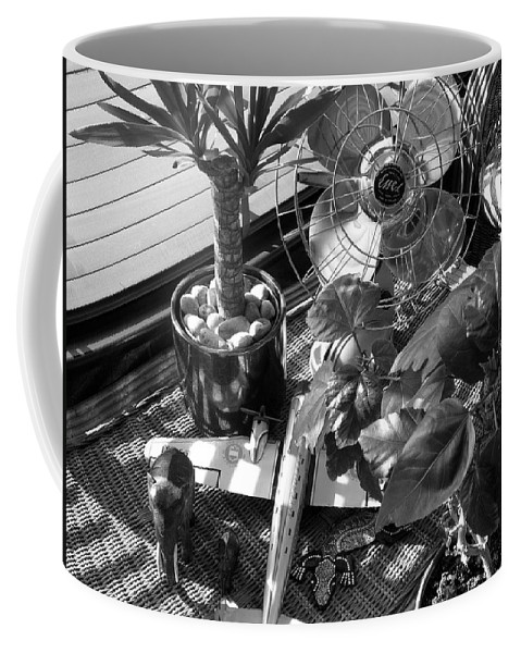 Still Life Coffee Mug featuring the photograph Still Life With Salamander by Charles Stuart