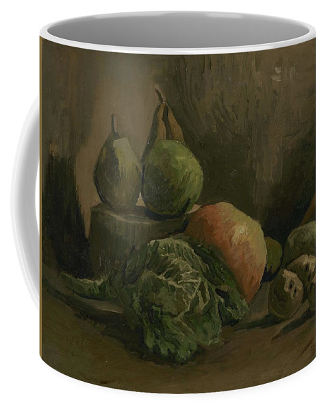 Nature Coffee Mug featuring the painting Still Life With Vegetables And Fruit Nuenen, Autumn 1884 Vincent Van Gogh 1853 1890 by Artistic Panda