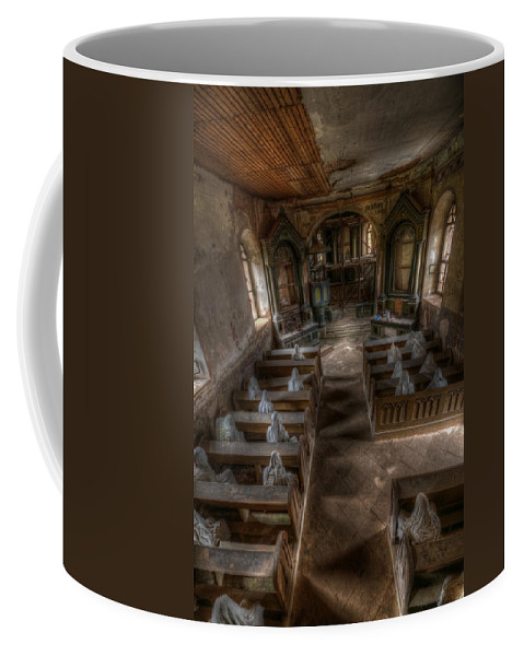 Ghostly Coffee Mug featuring the photograph Still Paying Together by Nathan Wright