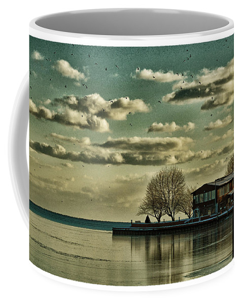 Water Coffee Mug featuring the photograph Still Waters by Barbara Treaster