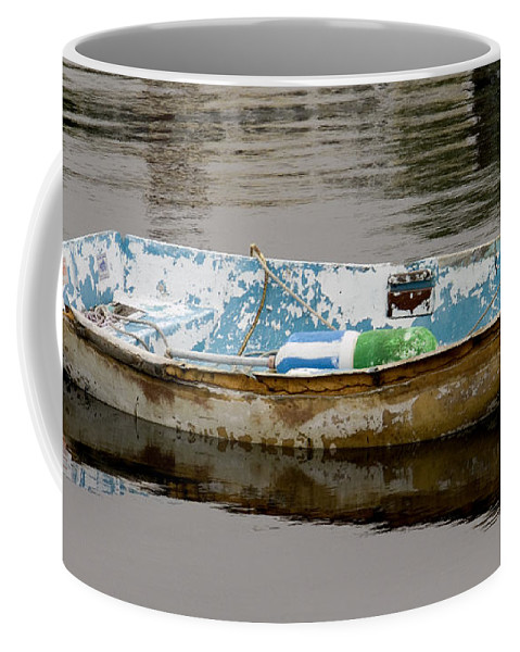 New England Boats Nancie's Photography Coffee Mug featuring the photograph Still Waters by Nancie DeMellia
