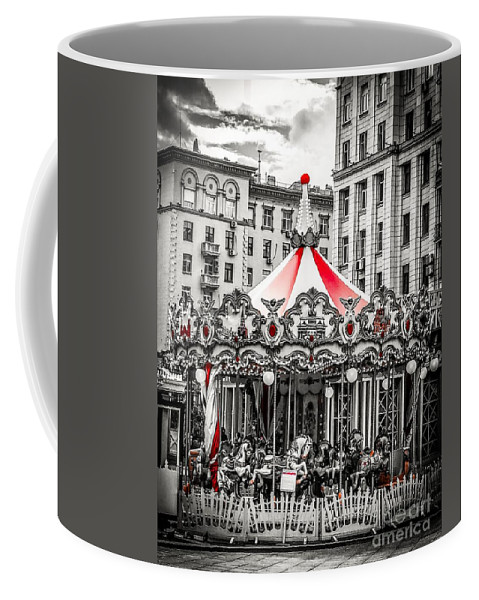 Black White Photography Coffee Mug featuring the photograph Stillness After The Rain by Sheila Wenzel
