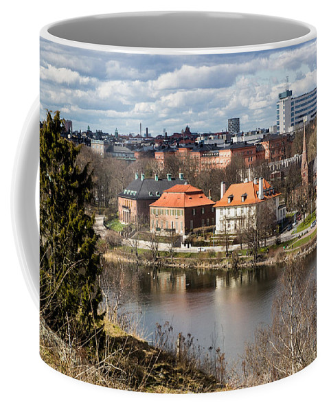 Stockholm Coffee Mug featuring the photograph Stockholm From Skansen by Suzanne Luft