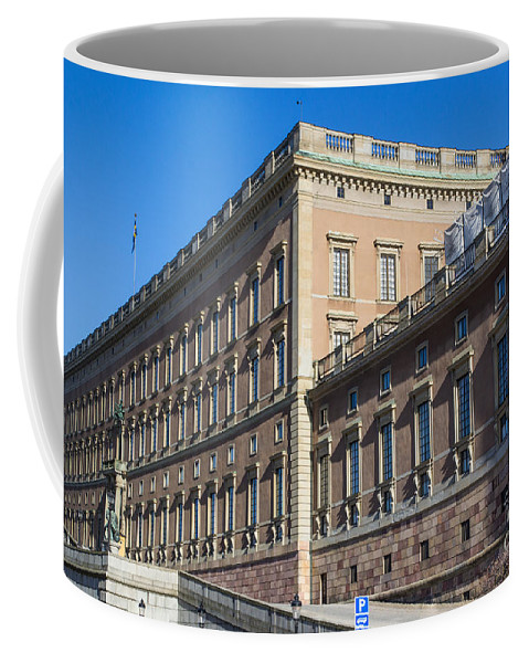 Stockholm Coffee Mug featuring the photograph Stockholm Royal Palace by Suzanne Luft