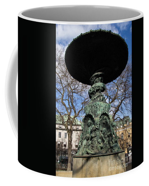 Stockholm Coffee Mug featuring the photograph Stockholm Statue by Suzanne Luft