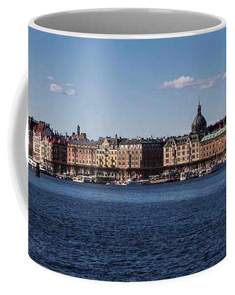 Stockholm Coffee Mug featuring the photograph Stockholm Waterscape by Suzanne Luft