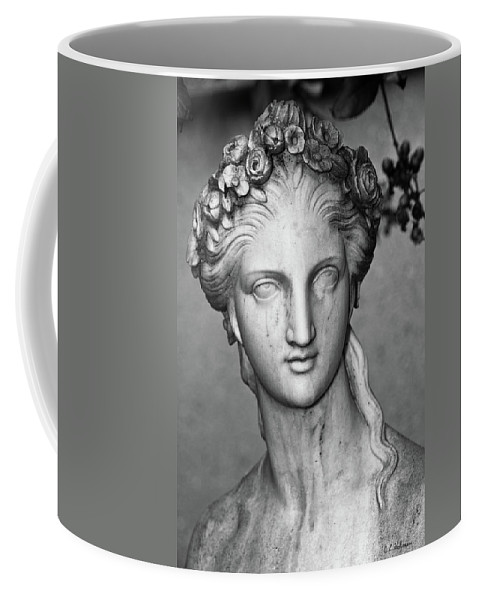 Sculpture Coffee Mug featuring the photograph Stone Cold Beauty by Christopher Holmes