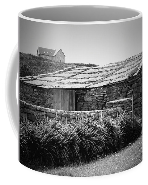 Irish Coffee Mug featuring the photograph Stone Structure Doolin Ireland by Teresa Mucha