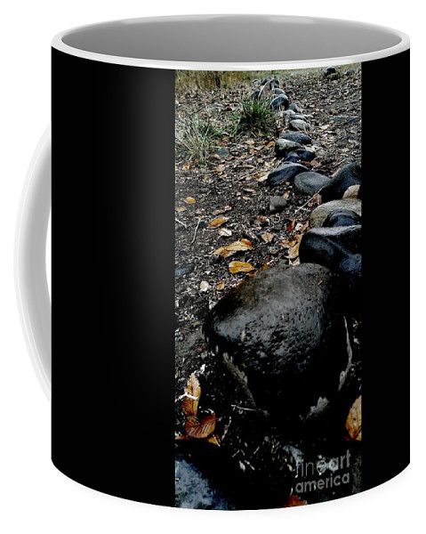 Stones Coffee Mug featuring the photograph Stoned Trail by LKB Art and Photography