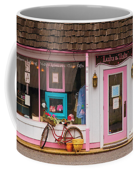 Savad Coffee Mug featuring the photograph Store - Lulu And Tutz by Mike Savad