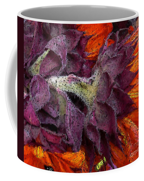 Flower Coffee Mug featuring the photograph Store Flower by Ron Bissett