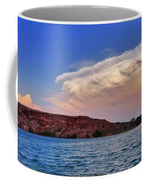 Skip Hunt Coffee Mug featuring the photograph Storm Brew by Skip Hunt