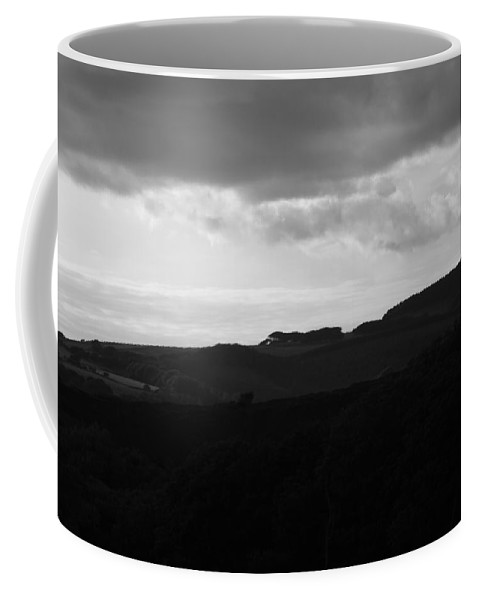 Non_city Coffee Mug featuring the photograph Storm Brewing by Frances Lewis