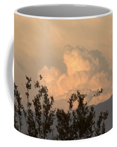 Clouds Coffee Mug featuring the photograph Storm by Chris Tarpening