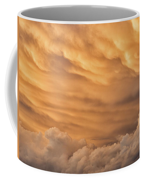 Colorado Coffee Mug featuring the photograph Storm Cloud Details by Dan Leffel