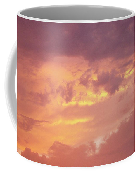 Clouds Coffee Mug featuring the photograph Storm Clouds by Deborah Crew-Johnson