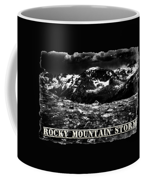 Colorado Coffee Mug featuring the photograph Storm Clouds Gathering In The Rockies by Roger Passman