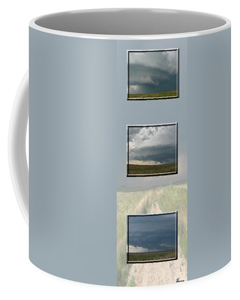 Tornado Strom Weather Rain Thunder Clouds Wind Coffee Mug featuring the photograph Storm Collection by Andrea Lawrence