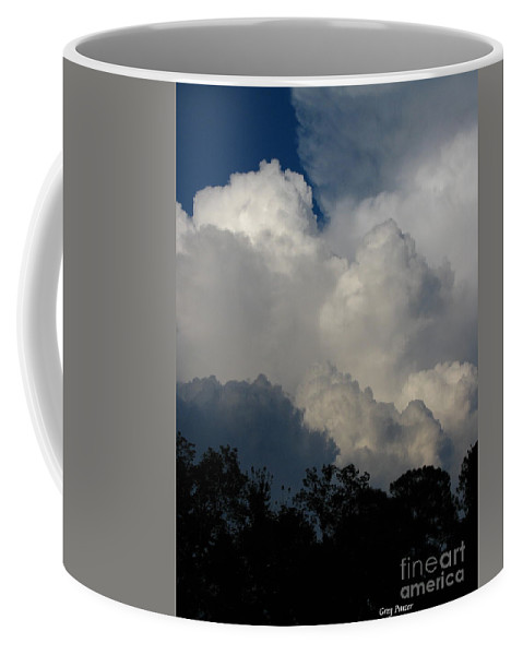 Clouds Coffee Mug featuring the photograph Storm by Greg Patzer
