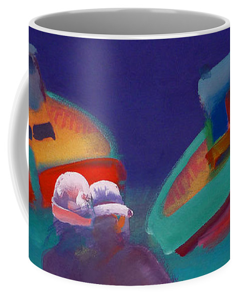 Storm Coffee Mug featuring the painting Storm Horizon by Charles Stuart