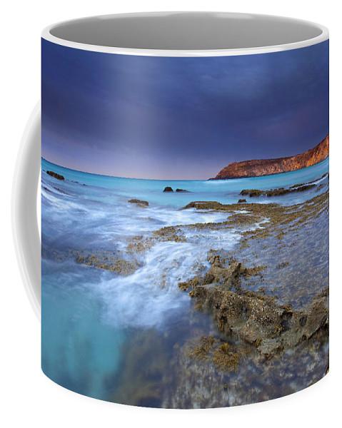 Dawn Coffee Mug featuring the photograph Storm Light by Mike Dawson