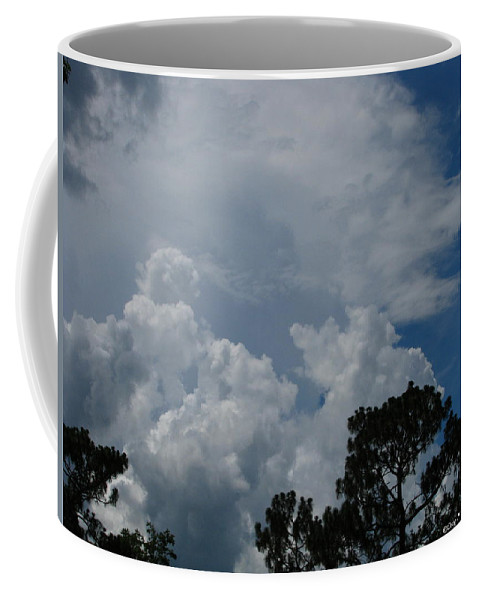 Patzer Coffee Mug featuring the photograph Storm Moving In by Greg Patzer