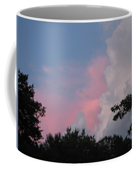 Storm Coffee Mug featuring the photograph Storm Rolling In by Kelly Mezzapelle