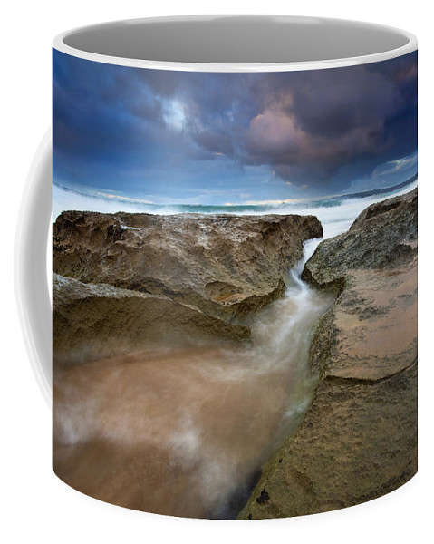 Storm Surge Coffee Mug featuring the photograph Storm Surge by Mike Dawson