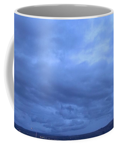 Storms Coffee Mug featuring the photograph Storming Through Selah by LKB Art and Photography